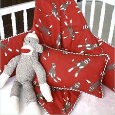 sock monkey baby theme | Ideas for Decorating a Sock Monkey Baby Nursery Theme Room