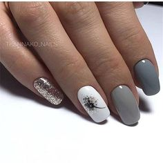 - Novelty and trends in manicure - Page 54 of 119 - Nagelkunst Design - halloween nails Nail Designs Pictures, Acrylic Nail Designs, Nail Art Designs, Nails Design, Nail Manicure, Diy Nails, Nail Polish, Manicure Ideas, Square Gel Nails