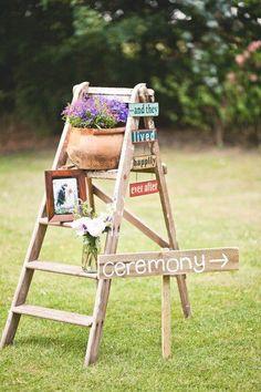 Perfect for a rustic farm/barn wedding