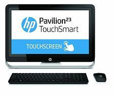 """HP Pavilion TouchSmart 23-H024 23"""" Touchscreen All-In-One 1TB Win 8.1 Desktop PC"""