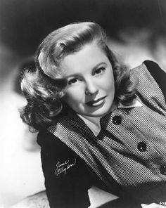 June Allyson - Sweetness personified