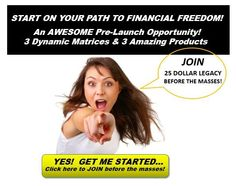 If you've been looking for the answer to reaching financial freedom then this is your ticket!! Click the image above!! To Learn More!!