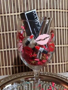 Mary Kay Lipstick with glass set. Great Holiday gift ideas available for you! Free gift wrapping available. Contact me www.marykay.com/rdelavina