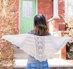 Clara by Tanis Gray Knit Lace Shawl Kit - None
