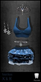 Second Life Marketplace - TOTAL STYLE - DEMO Snow Goddess including Jewelry & Nails