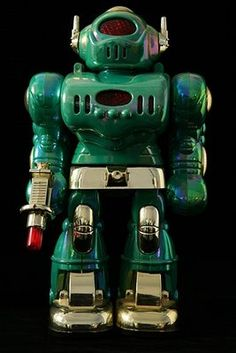 accidental mysteries: Vintage Japanese Robots