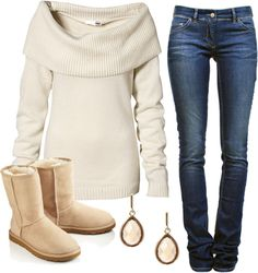 """H-UGG-able"" by qtpiekelso ❤ liked on Polyvore"
