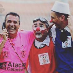 A mãe do juiz sentiu saudades e ligou pro filhote! #olhardopalhaco #futeboldepalhacos