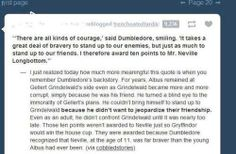 This is so amazing. Dumbledore is just great. The reason why Neville got his ten points <3