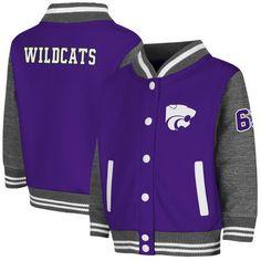 Kansas State Wildcats Colosseum Toddler Sophomore Jacket - Purple