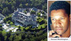 Denzel Washington Hollywood-Promi-Haus Celebrity Homes Kaysha Sotomayor Denzel Washington Hollywood-Promi-Haus Denzel Washington, Teen Celebrities, Hollywood Celebrities, Beautiful Celebrities, Celebrities Homes, Celebrity Mansions, Celebrity Houses, Mega Mansions, Mansions Homes