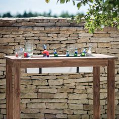 The St Mawes Reclaimed Teak Bar Table is perfect if you love to entertain. The garden table comes with an ingenious ice bucket built in perfect for chilling all your favourite summer drinks.