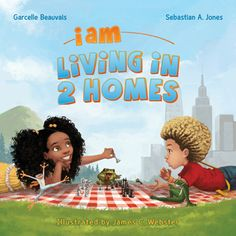"""""""I Am Living in 2 Homes"""" Our 2nd book in the I Am Book Series.  By Garcelle Beauvais and Sebastian A. Jones   Purchase here: http://www.amazon.com/Am-Awesome-Book/dp/1939834139/ref=sr_1_1?s=books&ie=UTF8&qid=1437152939&sr=1-1&keywords=i+am+awesome #booksforkids #childrensbooks #diversebooks #iam #mixed #multiculturalbooks"""