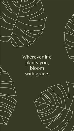 Inspirational Quotes from Functional Rustic Wherever life plants you, bloom with grace. 10 Inspirational Quotes from Functional Rustic Wherever life plants you, bloom with grace.