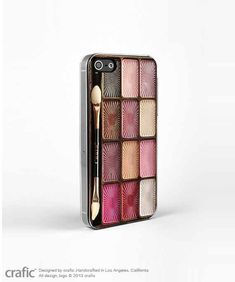 Eyeshadow Makeup Set iPhone 5 / 5S Case iPhone 4 case by CRAFIC, $19.99