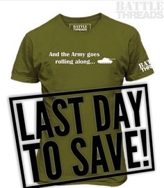3/17/17 - Today is the LAST DAY of our Green apparel sale! Everything green (including our customizable Olive Drab Mountain Up hat!) is 15% off with code: GREEN15  www.battle-threads.com