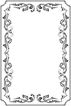 Vintage frames3 450x673 高品位なフレーム・飾り枠素材(EPS) Free Style