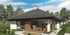 Proiect de casa parter SHC 151 - Smart Home Concept Smart Home Design, Small House Design, One Storey House, Archi Design, Inside Home, Design Case, Gazebo, Design Inspiration, Construction