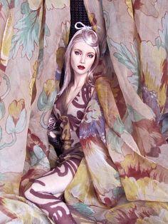 Sybarite fashion art doll