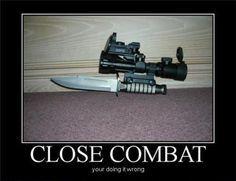 Funny Free Pics: Funny Demotivational Posters Part 3 Military Jokes, Military Guns, Military Life, Usmc Humor, Police Humor, Stupid Memes, Funny Memes, Stupid Funny, Hilarious