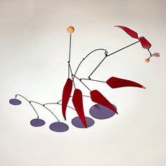 Calder hanging art, hanging mobile, hanging mobiles, art mobiles, mobile art, kinetic art