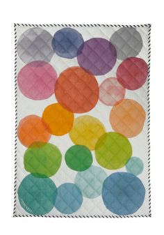 super cute watercolor quilt!