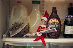 Elf on the Shelf Refrigerator