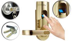 Fingerprint Door Lock Office Home use 6600-86     #Fingerprint #DoorLock #door #keypad #Satin #chrome #handdoor #Electronic #Password #Card #Key #Handle #Nickel #home #office #Mechanical #gold #Freeshipping