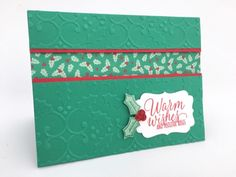 Stampin' Up! Tin of Tags with Holly Berry Happiness Presents & Pinecones - 1