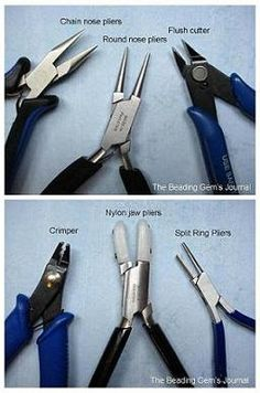 Newly hooked on beading, many beginners rush out and buy the first tools they come across. Some fall victim to shoddy tools or tool sets con...