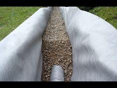 Как сделать дренаж вокруг дома для отвода грунтовых вод. Виды дренажа. Монтаж дренажной системы. Дренажный колодец и дренажные трубы. Запчасти на ВАЗ 2101-21...