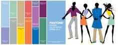 Pantone Spring 2014 Fashion Color Trend