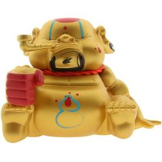 $100 limit edition Fortune BeeFy Bad Bad Buddha Gold Vinyl Figure only 100 made | eBay