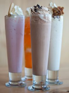 Burger Bar Chicago milkshakes - I had a toffee one that changed my life (ok, cured a hangover)