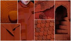 Oxide. Industrial rust shades resurface for Fall/Winter 16/17 in red, brown and orange casts, creating a key color for twill pants and outerwear.