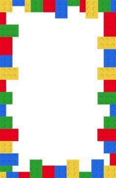 Hedendaags Gratis afdrukbare Lego verjaardagsfeestje uitnodiging sjabloon PT-04