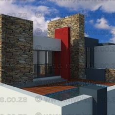 House Plan – My Building Plans South Africa 6 Bedroom House Plans, Family House Plans, My Building, Building Plans, Modern House Floor Plans, Open Plan, Modern Bedroom, South Africa, How To Plan