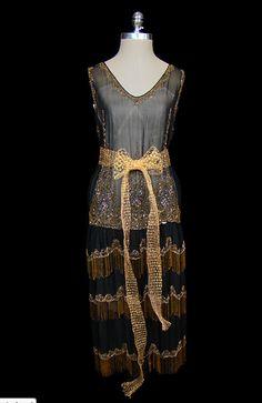 vintage 20's dress: via thefrock