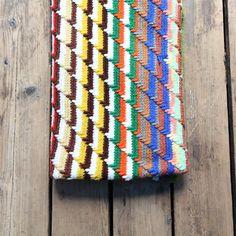 Vintage Crocheted Throw Blanket