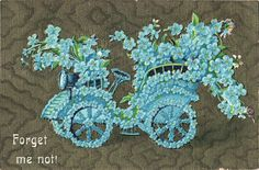 Free Vintage Clip Art - Flower Car - The Graphics Fairy