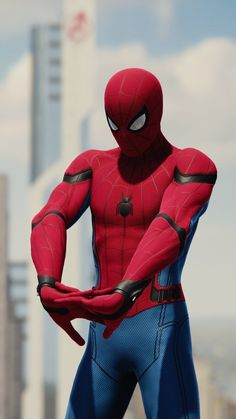 Even there's so many suits available on insomniac marvel spiderman game but everyone's shold agree if the classic red and blue suit spiderma. Marvel Comics Superheroes, Marvel Characters, Marvel Heroes, Marvel Dc, Iron Man Avengers, Logo Super Heros, Spiderman Kunst, Spiderman Action Figure, Comic Kunst