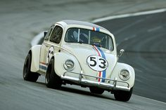 Good old Herby with nice racing tires