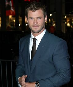 Swoon: Chris Hemsworth, now we love you even more