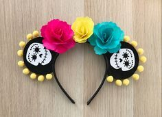 Make these No-Sew Coco Mouse Ears, inspired by the Disney Pixar movie, Coco. This simple tutorial is easy to follow and just requires a few supplies!