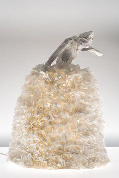 sculpture lumineuse (Papier à êtres) ❣