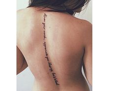 Yes, I wouldn't get many back tattoos but I can imagine having this one