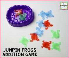 Jumpin Frogs Addition Game!