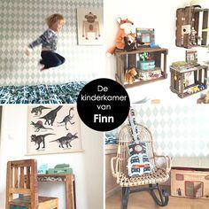 babykamer, kinderkamer, tips, ideeën, accessoires, jongen, meisje, inspiratie, inrichten, interieur, behang, verf, kistjes, kratjes, hout, sloophout, steigerhout, bed, ledikant, dekbedovertrek, speelgoedkist, schommelstoel, poster, muur, kledingkast, loc