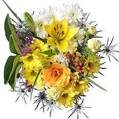 Sunny Daze Mixed Bouquet - 10 pk.
