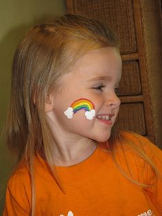 When you think about face painting designs, you probably think about simple kids face painting designs. Many people do not realize that face painting designs go Shark Face Painting, Girl Face Painting, Simple Face Painting, Face Paintings, Dog Face Paints, Easy Face Painting Designs, Rainbow Face Paint, Rainbow Painting, Spiderman Face